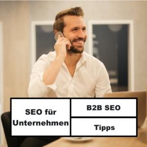 B2B SEO für Unternehmen