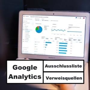 Verweisausschlussliste Google Analytics