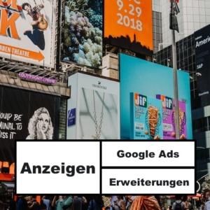 Beitragsbild Anzeigenerweiterungen