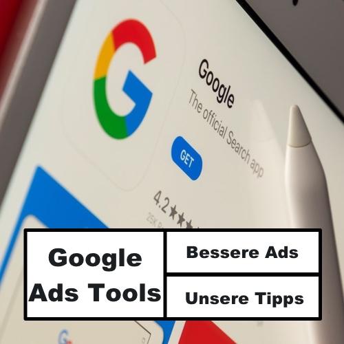 Beitragsbild Google Ads Tools