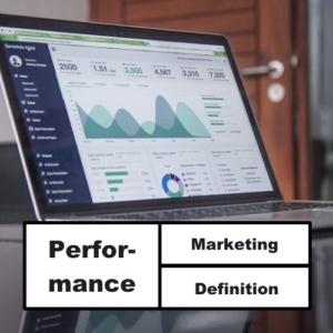 Performance Marketing