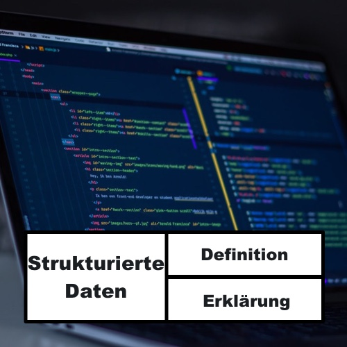 Beitragsbild strukturierte Daten