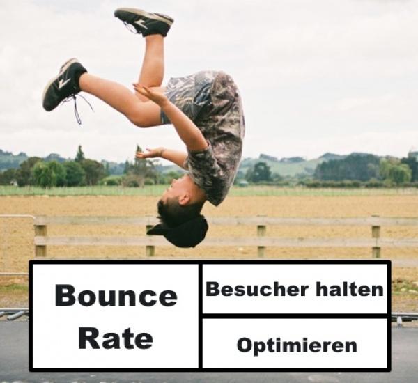 Bounce Rate verringern