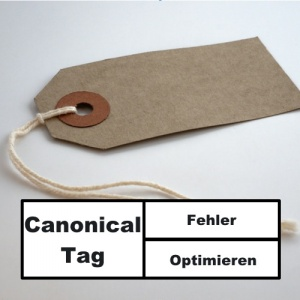 Canonical Tag Fehler