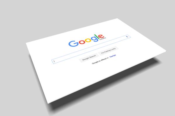 Beispielbild Google Suche