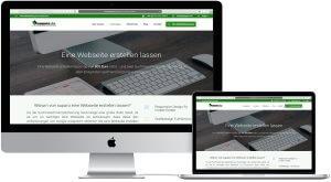 suparo Webseitenerstellung Ansicht iMac und Macbook
